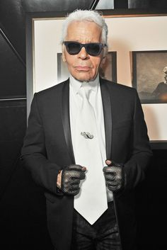 Karl Lagerfeld in Paris