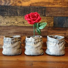 Cement Sack Planter - Small