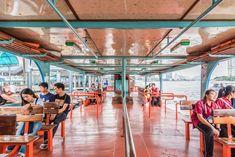 Ferry Boat at Sathorn Pier Ferry Boat, Pattaya, Chiang Mai, Bangkok, Condo, Fair Grounds, Travel, Viajes