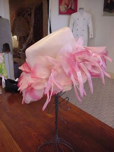 Vintage 1940/50's Flower Hat / Retro Easter by OldohioVintage, $22.00