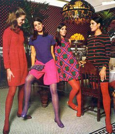 This is Ali MacGraw on the far right - c. 1967