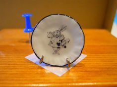 Alice in Wonderland  White Rabiit by TheQuirkyCurioShoppe on Etsy, $4.00