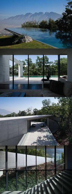 Tadao Ando - House in Monterrey, 2008
