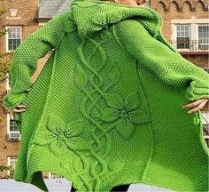 Learn how to make this beautiful coat crochet patterns free | CROCHET FREE ONLINE