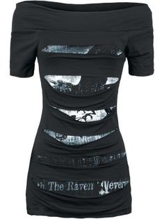 The Raven Nevermore tight fitted mini jersey dress