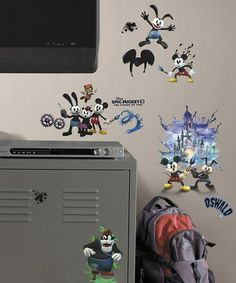Look what I found on #zulily! Epic Mickey Wall Decal Set #zulilyfinds