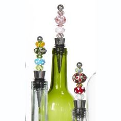 Glass Bead Bottle Stopper