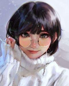 Cute Girl Drawing, Cartoon Girl Drawing, Girl Cartoon, Cute Drawings, Cool Anime Girl, Kawaii Anime Girl, Anime Art Girl, Pinterest Instagram, Cartoon Art Styles