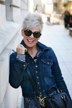 Shauna Robertson of Chic Over 50 joins Tanya Foster in the Fierce 50 Campaign
