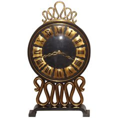 Glamorous Gubelin Clock | 20th cent France | 1st Dibs