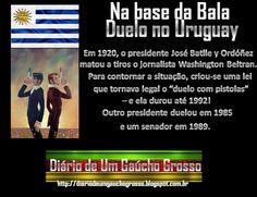 Diário de um Gaúcho Grosso: DUELO NO URUGUAY - GAÚCHOS URUGUAIOS