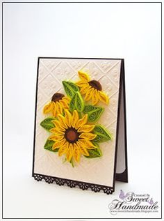 *QUILLING ~ Sweet Handmade, BirthDay Cards