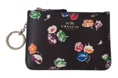 *Sold* Coach WildFlower Key Chain Coin Case Pouch  ~ 65444  New  | eBay