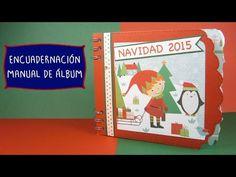 Encuadernación Manual de Álbum reciclando muelle de libreta - YouTube