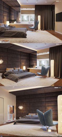 Спальня в доме — Компьютерная графика и анимация — Render.ru