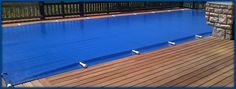 Aqua-Net Solid Safety Pool cover