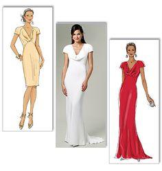 B5710 Misses' Dress