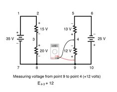 Read about Kirchhoff's Voltage Law (KVL) (Divider Circuits And Kirchhoff's Laws) in our free Electronics Textbook Diy Electronics, Textbook, Circuits, Law, Divider, Reading, Reading Books, Class Books, Room Screen