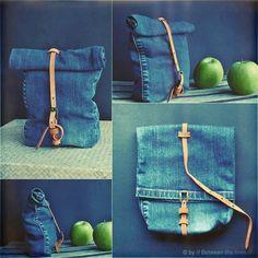 ::: OutsaPop Trashion ::: DIY fashion by Outi Pyy :::: Upcycling Denim Challenge 2013