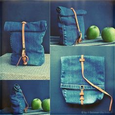 ::: OutsaPop Trashion ::: DIY fashion by Outi Pyy :::: Upcycling Denim Challenge 2013