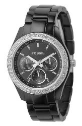 Fossil Ladies' Crystal Resin Watch  $95.00