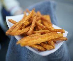 Culy homemade: knapperige zoete aardappelfrietjes