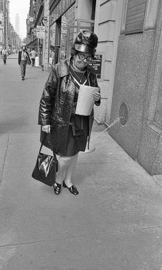 """""""I wear this every time I head to the bodega for a loaf of bread, a container of milk, and a stick of butter,"""" Inez huffed."""