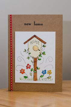 New Home Card.