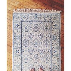 I have, for years, loved rugs. And, as some of you know, have always had a special unicorn status for blue and white oriental rugs. Finally,...