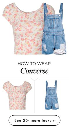 """Untitled #3279"" by laurenatria11 on Polyvore featuring Jane Norman, Boohoo and Converse"