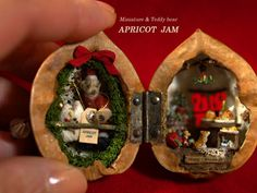 Christmas Walnut Shell by Apricot Jam