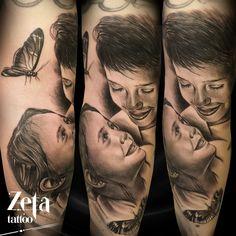 By ZETA TATTOO https://www.facebook.com/Zeta-Tattoo-429039373884070/ #familytattoo #lovefamily #tattoo #aloetattoo #vikingink #zetatattoo