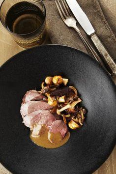 Recept voor wilde eend met bospaddenstoelen | njam!