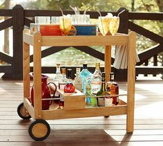 Pottery Barn - indoor/outdoor cart for Florida room