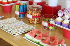 {Parties} Rainbows and Race Cars Birthday » Glorious Treats