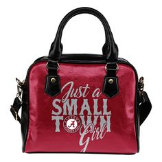 Just A Small Town Alabama Crimson Tide Shoulder Handbags – Best Funny Store