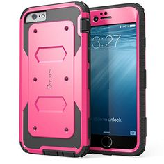 iPhone 6 Case, **Super Heavy Duty** i-Blason Apple iPhone 6 Case 4.7 inch [Slim Fit] Armorbox Series (Dual Layer) Hybrid [Full-body Protective] Case with Front Cover and Built-in Screen Protector / Impact Resistant Bumpers for iPhone 6 (Pink) i-Blason http://www.amazon.com/dp/B00M0QW36G/ref=cm_sw_r_pi_dp_Uivmub02VE13V