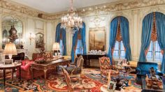 Interior of the Woolworth Mansion in New York City, New York.