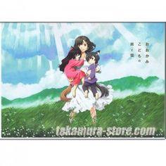 Wolf Children-Okami kodomo no Ame to Yuki Pamphlet