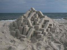 Sand Castle 7.26.2014 by box builder, via Flickr
