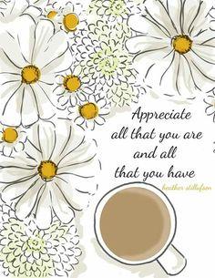 Appreciate all