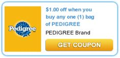 $1.00 off when you buy any one (1) bag of PEDIGREE
