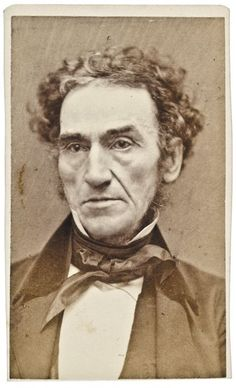 1860s Carte de Visite Photograph of Rufus Choate