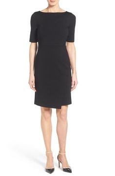 Halogen® Faux Wrap Sheath Dress (Regular & Petite) available at #Nordstrom