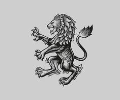 Refining Aston Villa's club badge (Logo Design Love) Aston Villa Badge, Aston Villa Fc, Corporate Design, Branding Design, Design Agency, Label Design, Logo Design Liebe, Lion Print, Badge Logo