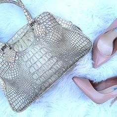 Final Price| Jalda croc embossed leather bag Just stunning! Jalda  Bags