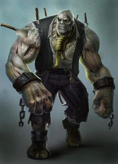 Solomon Grundy From Injustice Gods Among Us