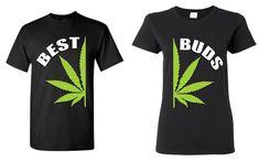 Best Buds Pot Leaf T-shirt