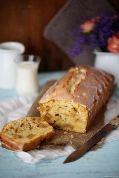 Rezept Apfelkuchen Kastenkuchen Rührkuchen Foodblog Zuckerzimtundliebe