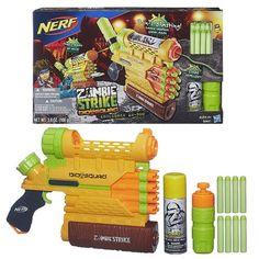 Nerf Zombie Strike Biosquad Zombie Abolisher ZR-800 Blaster - Hasbro - Nerf - Roleplay at Entertainment Earth